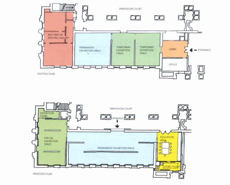 Before after floor plan
