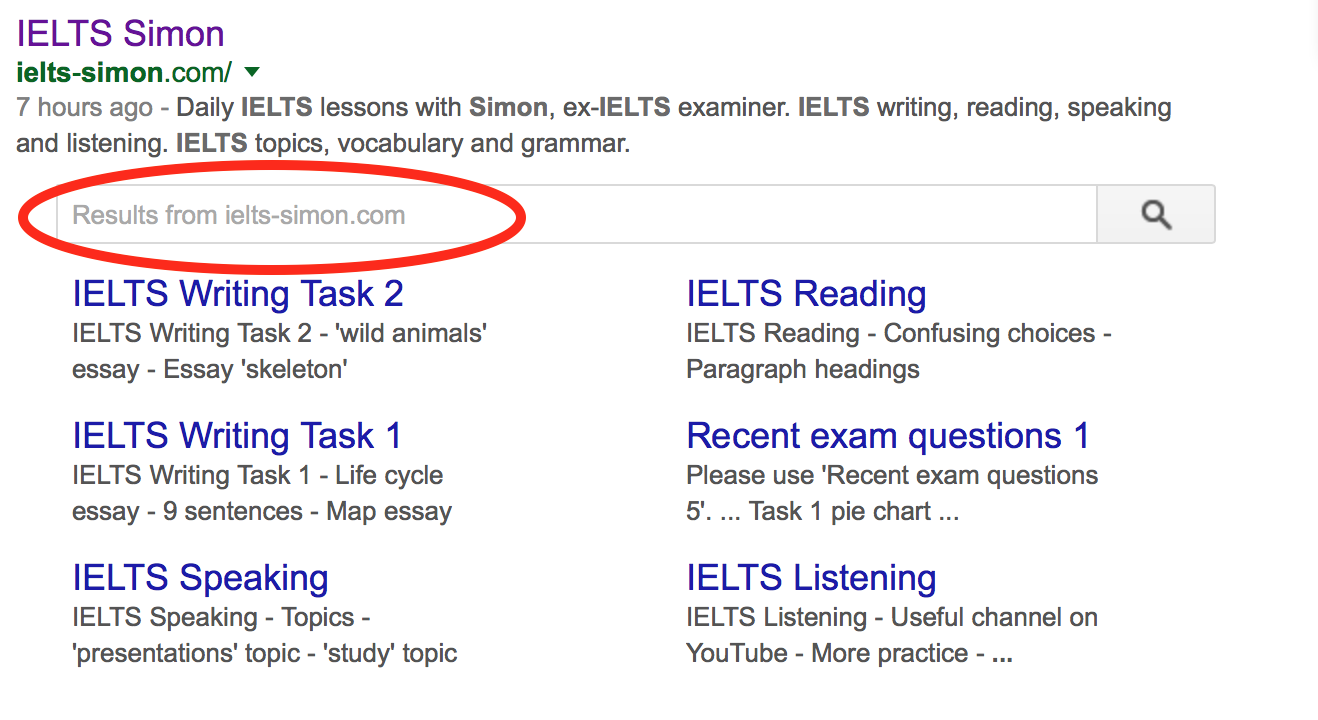 ielts simon com  google search
